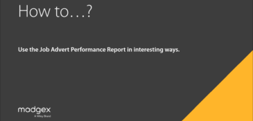 How To: Use Job Advert Performance Report