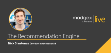 Madgex Live 2020 - Nick Siantanos - The Recommendation Engine